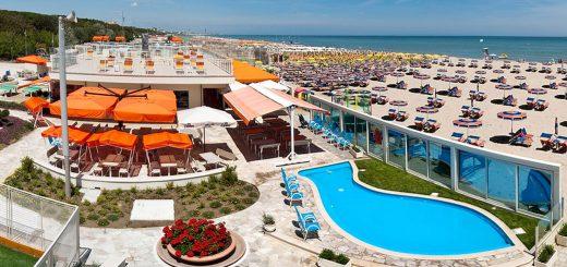 Spiaggia privata Agenzia Internazionale