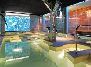 piscina tecnica di hotel santoli a porretta terme